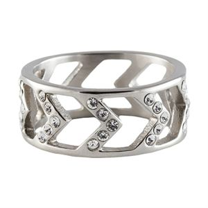 Picture of Silver Chevron Ring - Size 6
