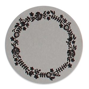Picture of Large Silver Floral Wreath Coin